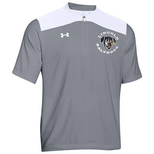 ecaa1d32ef0 Saltdogs Under Armour Short Sleeve Jacket-Gray – Saltdogs Store