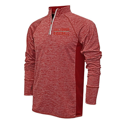 Saltdogs Mens Dry Tek Quarter-Zip